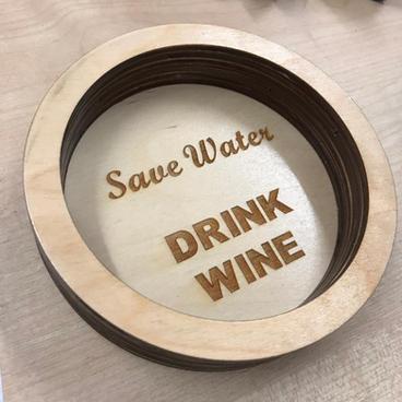 Wine Coaster