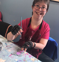 Rebekah is one of a founding members, joining the team 16 years ago. She enjoys detail painting and