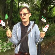 Matthew's Christmas on Sticks