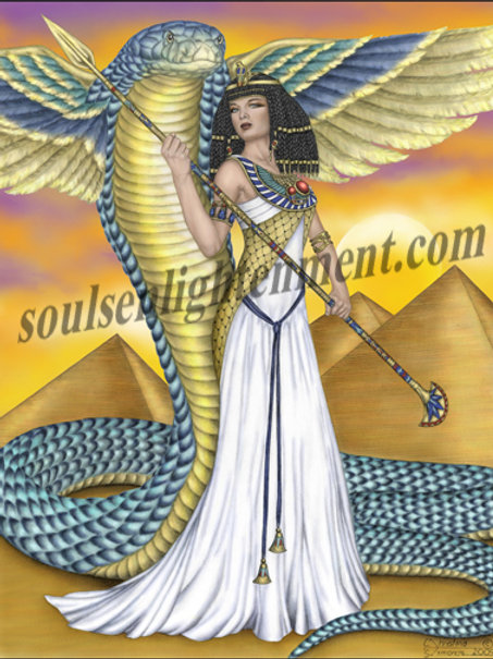 Strength of the Egyptian Priestess