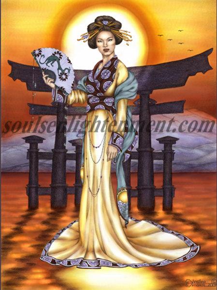 Amaterasu, Goddess of Radiance