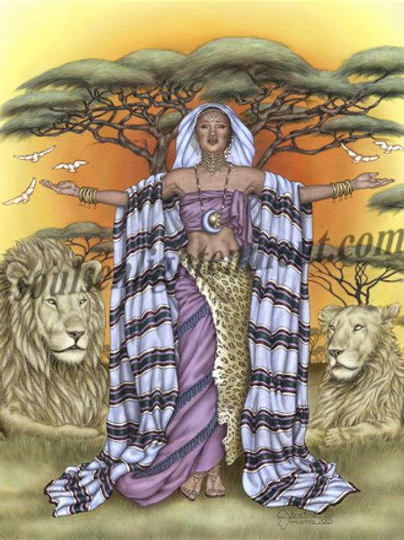 Buku, Goddess of Oneness