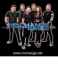 Plakat - NO CHANGE Partyband
