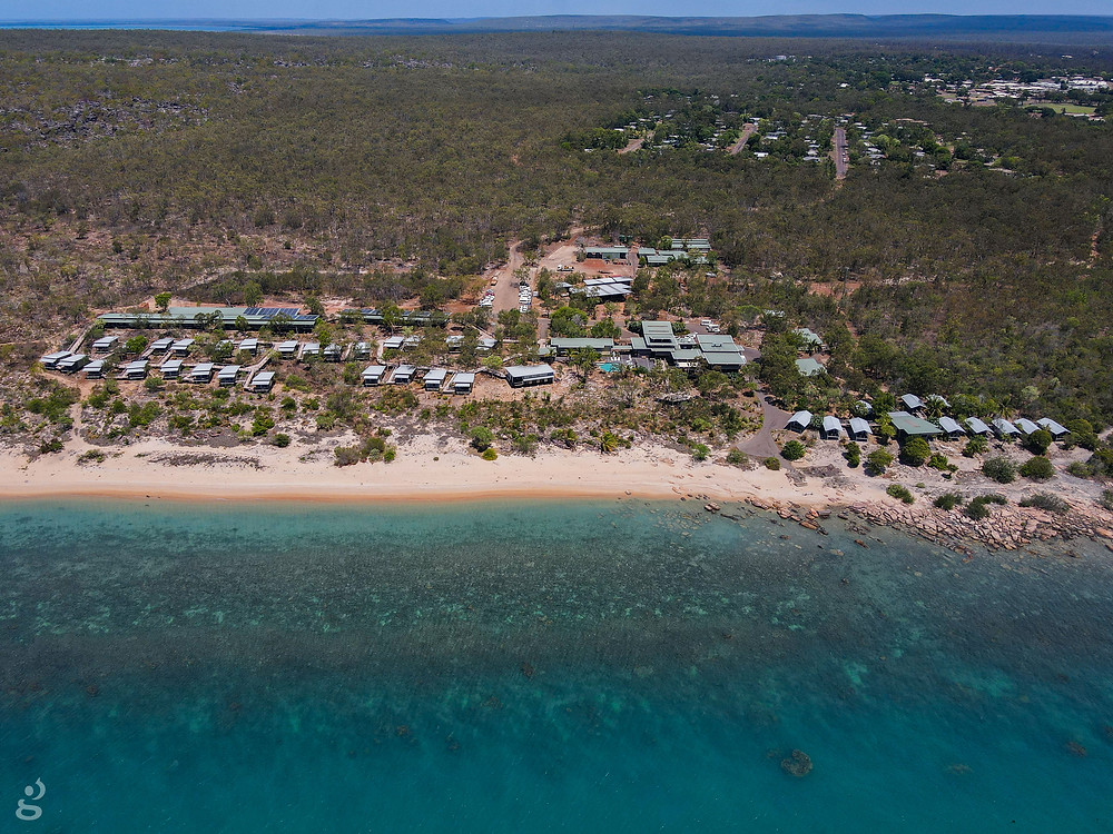 Groote Eylandt Lodge from above