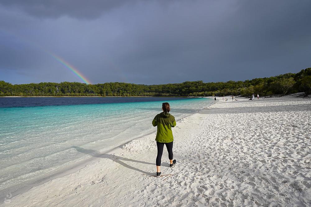 Rainbow Lake McKenzie Fraser Island