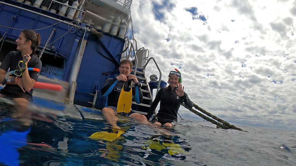 Reef Experience boat best diving day tour from Cairns