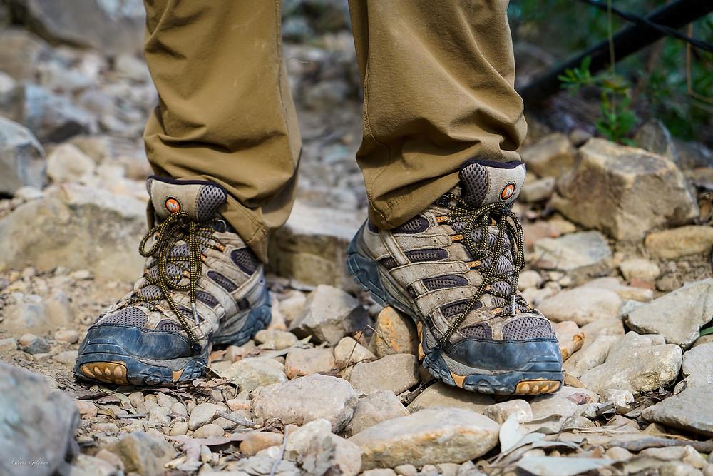 hiking boots Merrell Moab