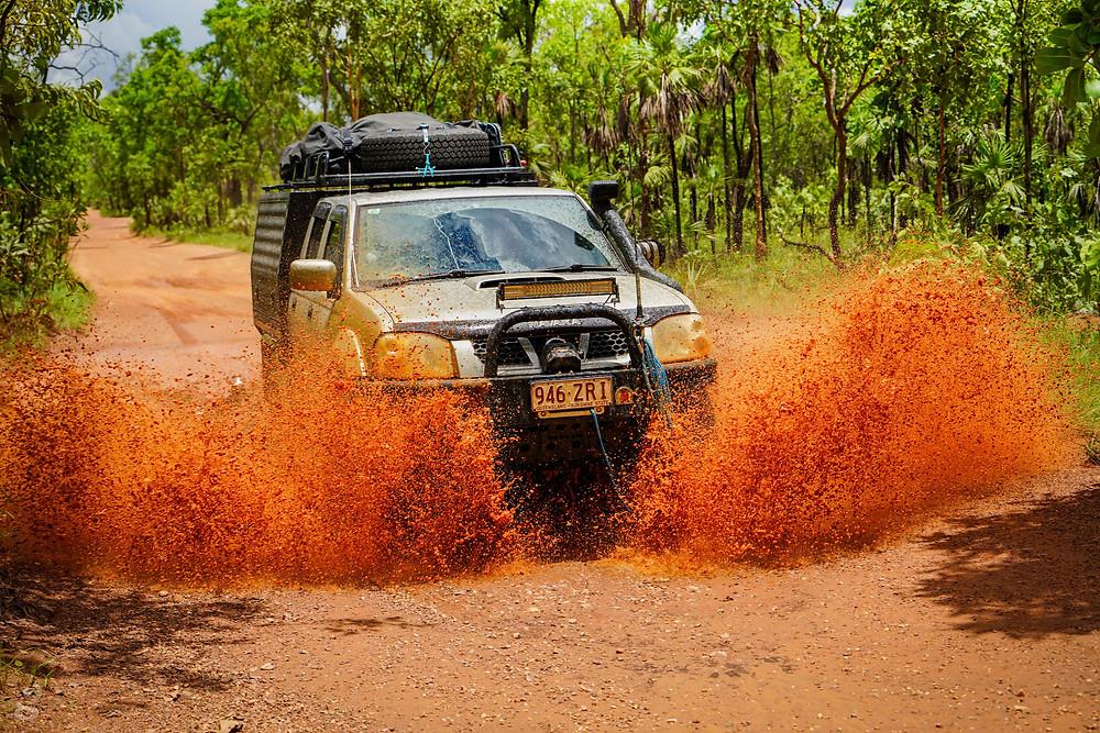 Nissan Navara modifications 4WD offroading