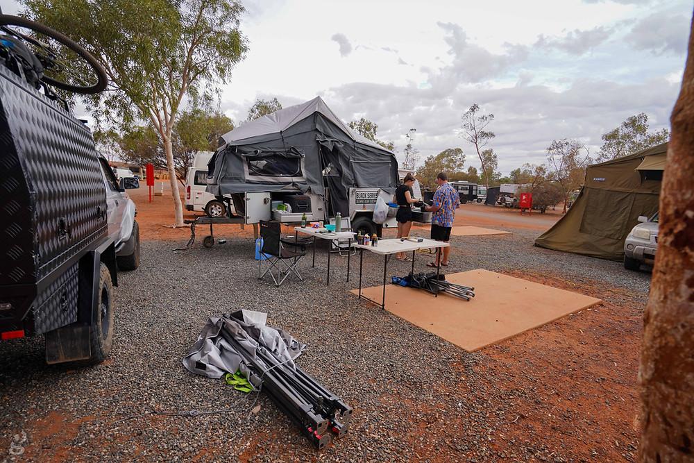 Campground Visiting Uluru-Kata Tjuta National Park