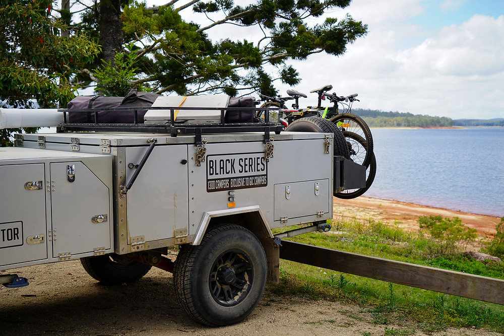 off road trailer Black Series Dominator modifications