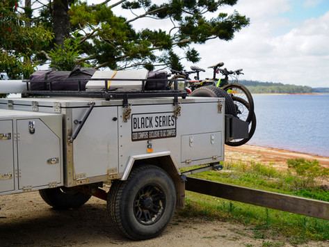 Black Series Dominator Modifications - How to Make an Off Road Camper Trailer Livable Long-Term