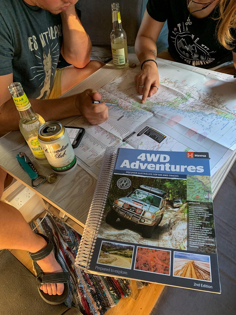 Hema 4WD book