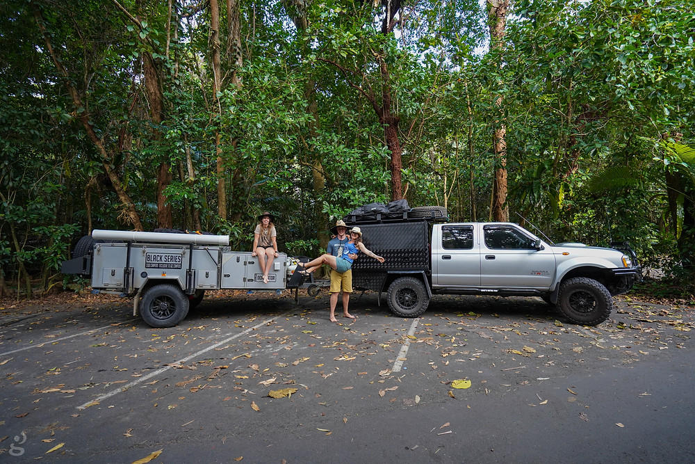 off road in a used 4WD Daintree