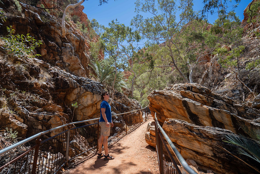 Standley Chasm trail