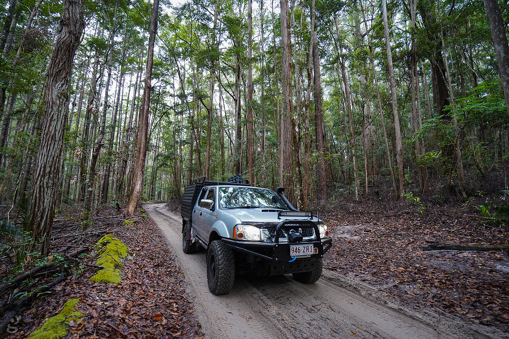 4WDing Southern Lakes Circuit Fraser Island