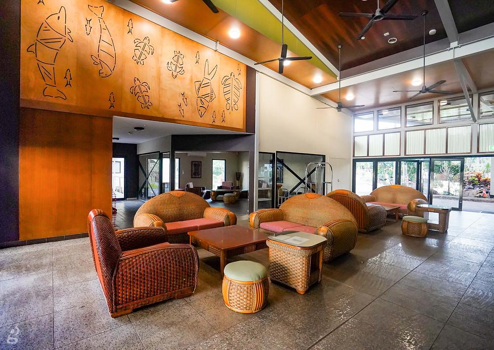 Groote Eylandt Lodge lobby