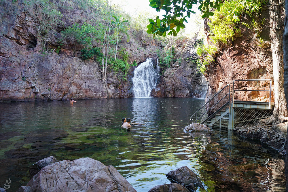 Florence Falls waterfalls in Litchfield National Park