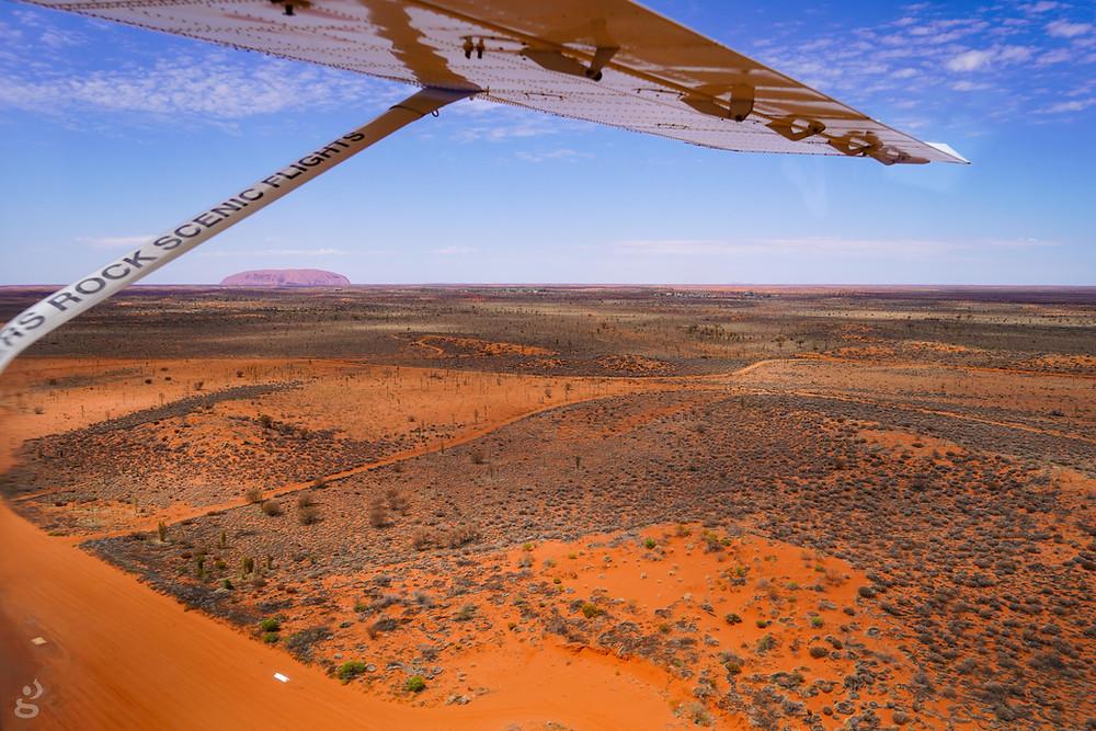 scenic flight Visiting Uluru-Kata Tjuta National Park
