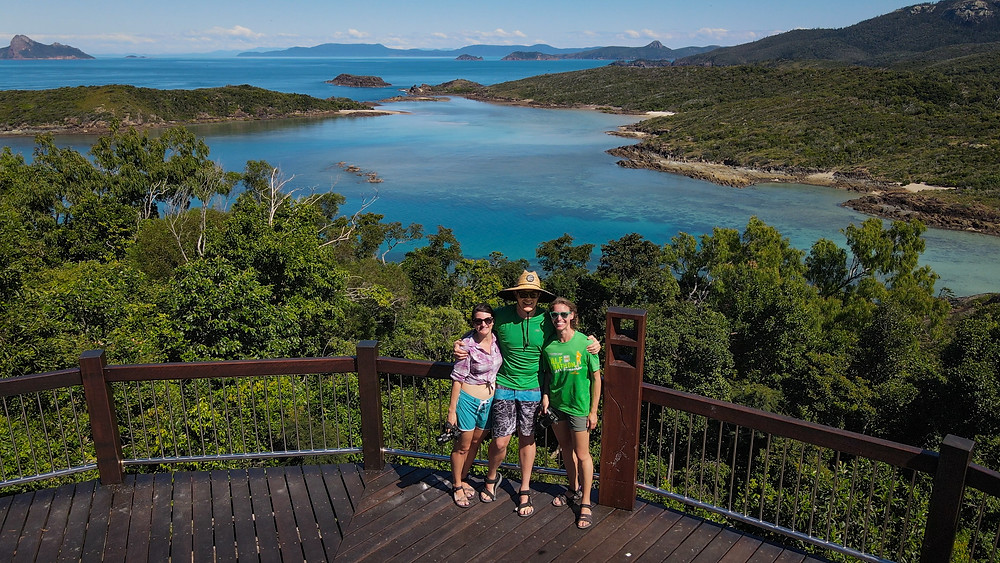 South Whitehaven lookout Whitsunday Island