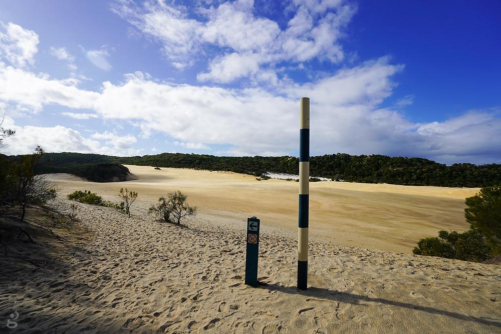 Hike to Lake Wabby Fraser Island