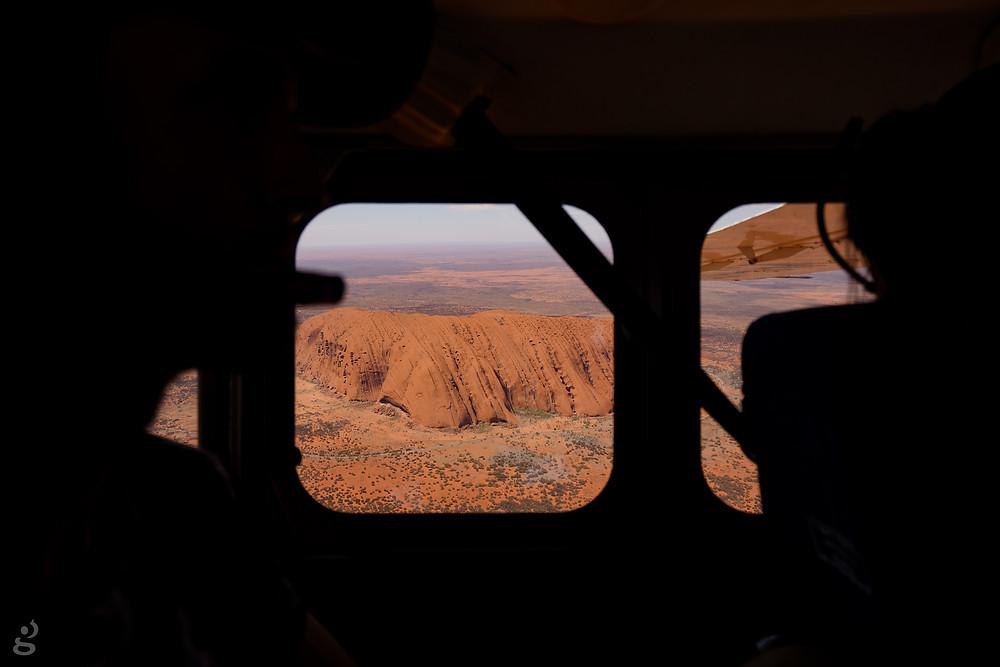 Visiting Uluru-Kata Tjuta National Park scenic flight