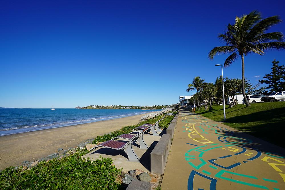 Yeppoon beach walk