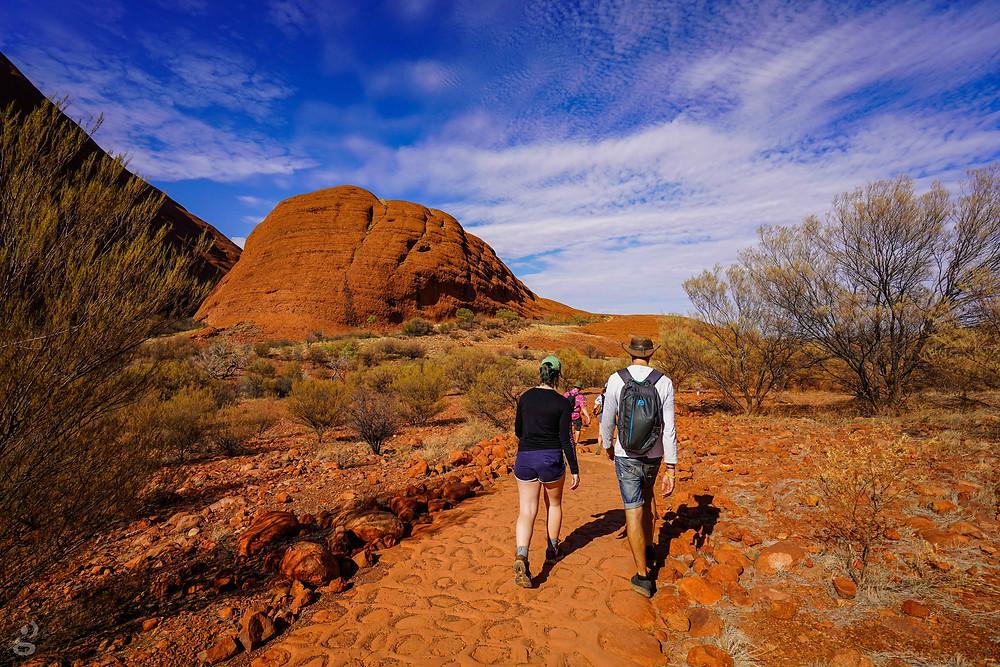 Visiting Uluru-Kata Tjuta National Park hiking trails