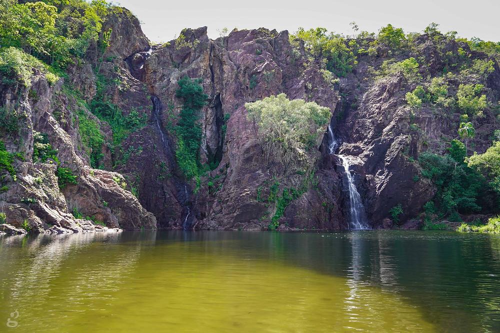 waterfalls in Litchfield National Park Wangi Falls