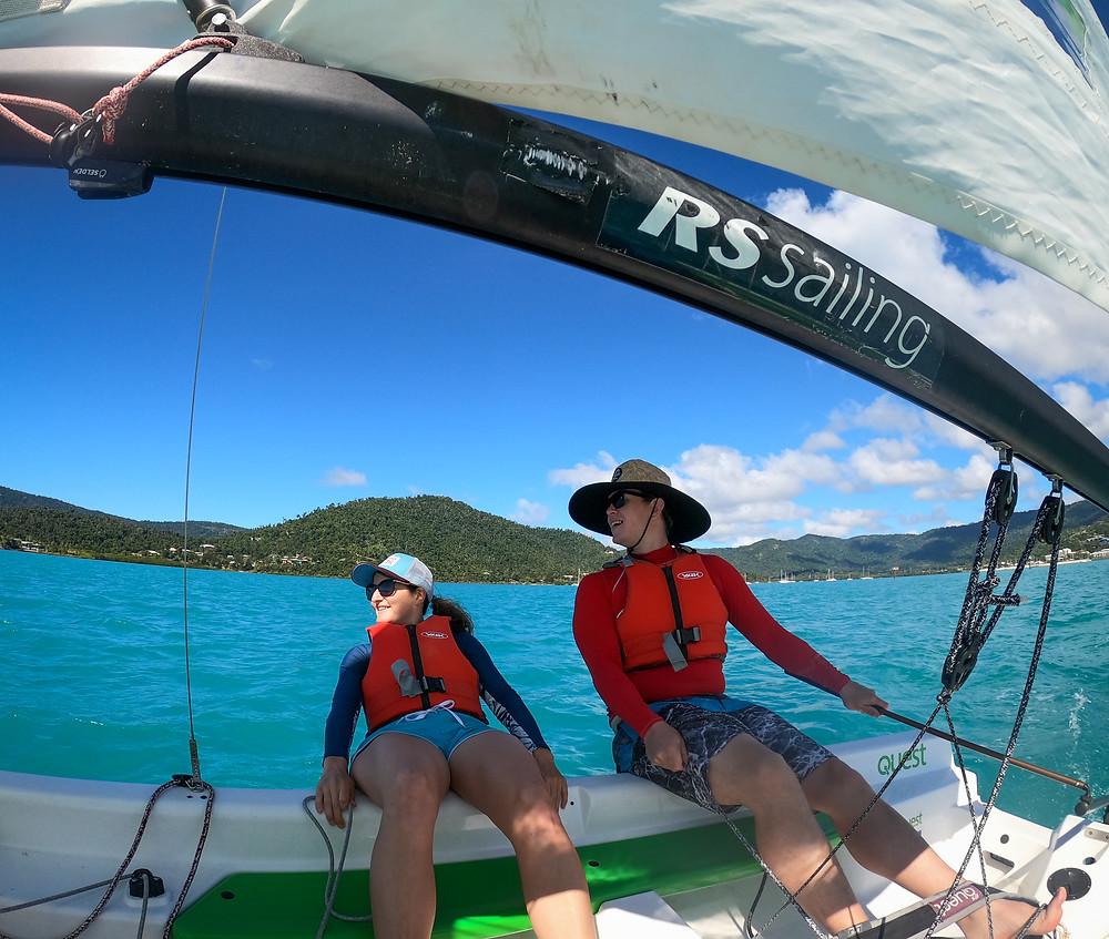 Whitsunday Sailing Club Airlie Beach GoPro