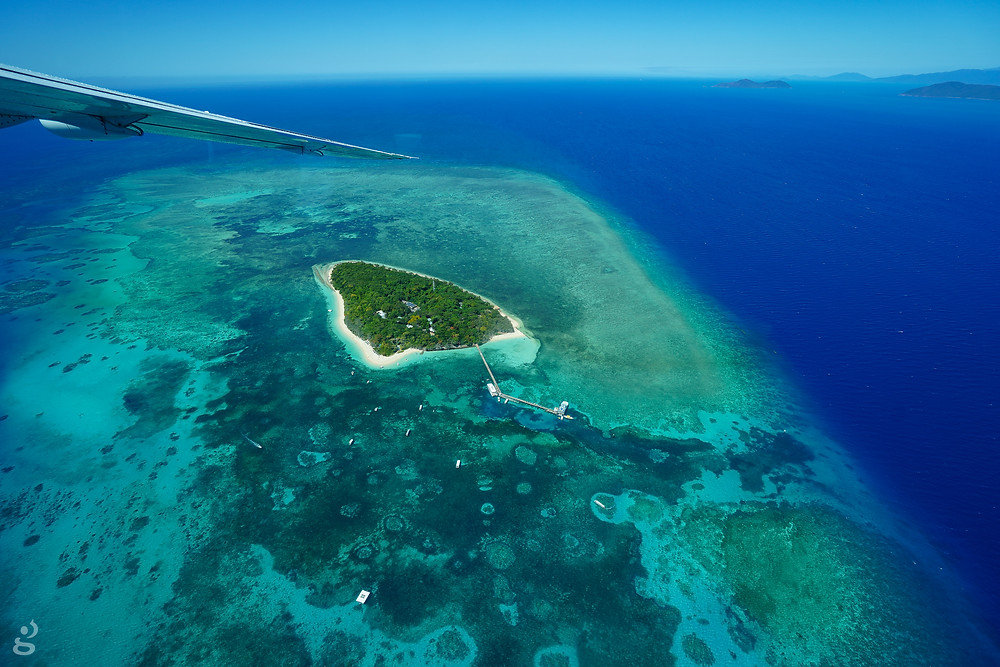 islands scenic flight from Cairns