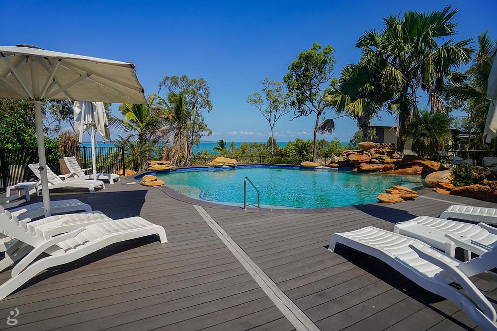 Groote Eylandt Lodge pool