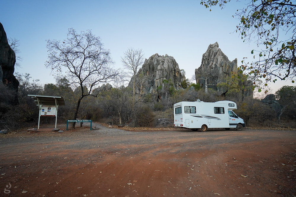 Balanced Rock trailhead Chillagoe-Mungana Caves National Park