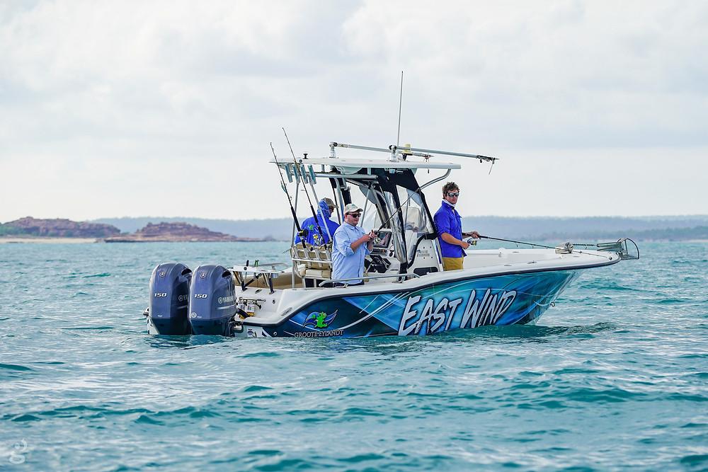 Groote Eylandt Lodge fishing charter