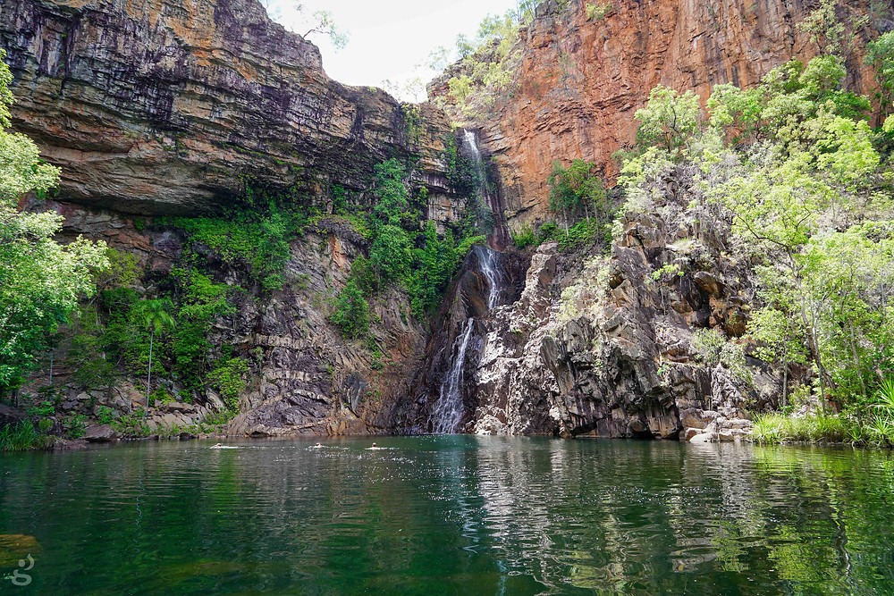 waterfalls in Litchfield National Park Sandy Creek