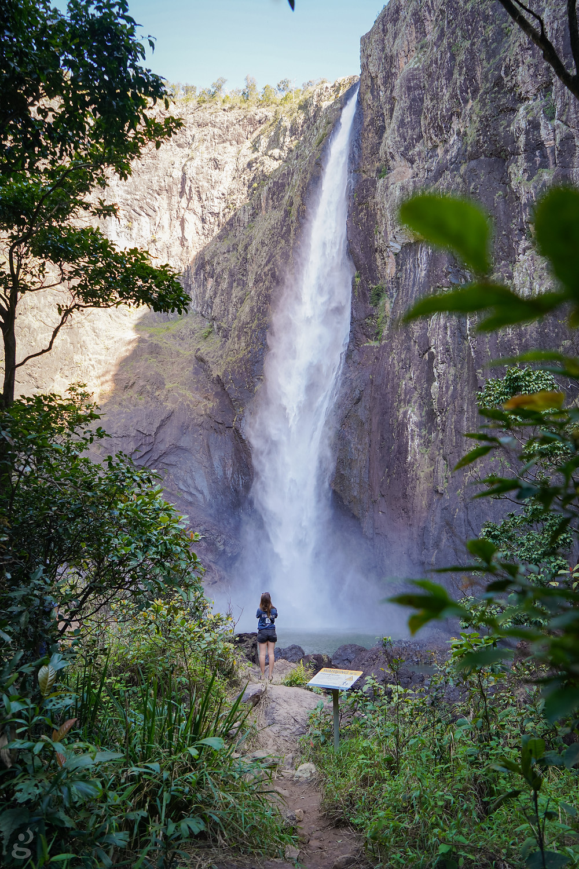 Wallaman Falls view from the bottom