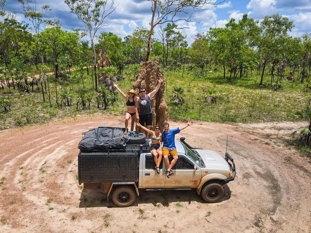 termite mounds Litchfield National Park