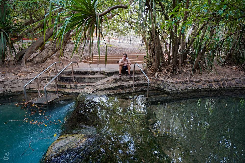 Katherine Hot Springs lower pool