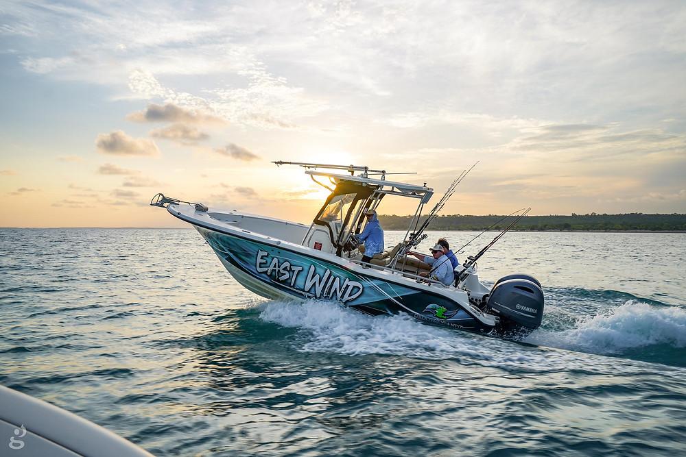 Groote Eylandt Lodge fishing boat