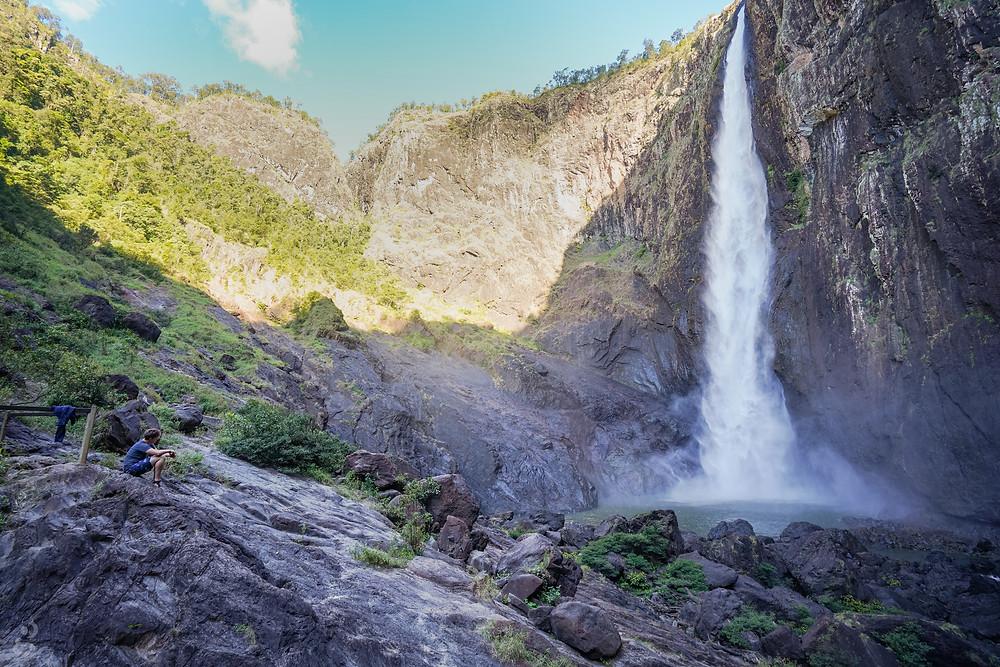 Wallaman Falls wide view