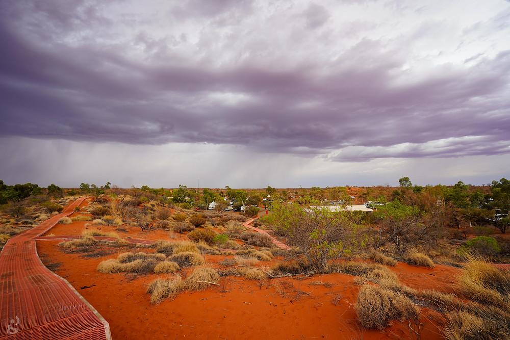 Visiting Uluru-Kata Tjuta National Park campground