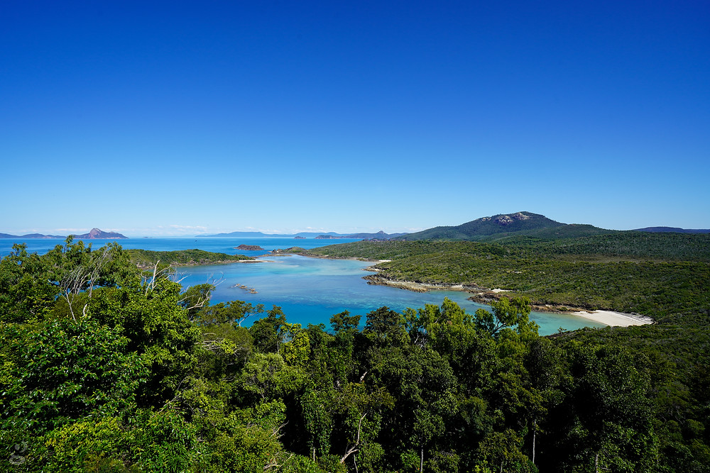 Day Trips in the Whitsundays South Whitehaven lookout
