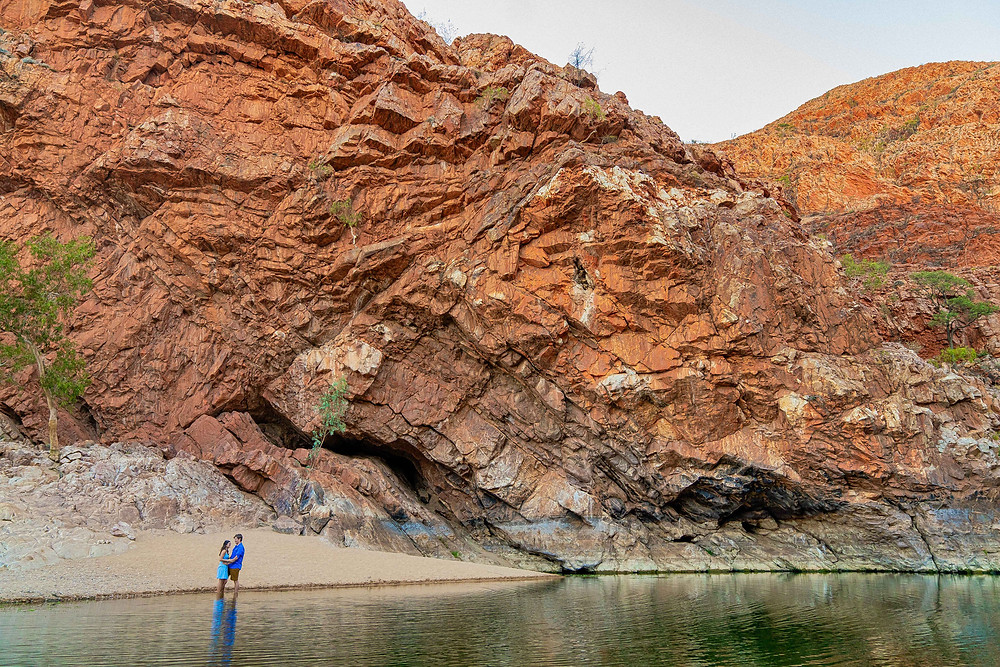 camping in the MacDonnell Ranges Ormiston Gorge