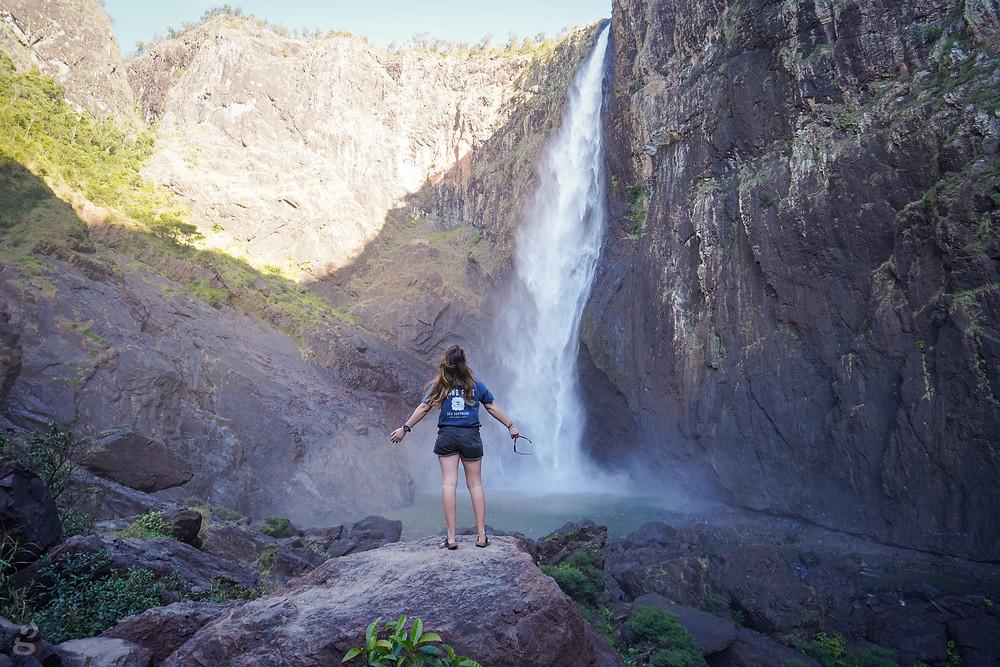 Rocky at Wallaman Falls