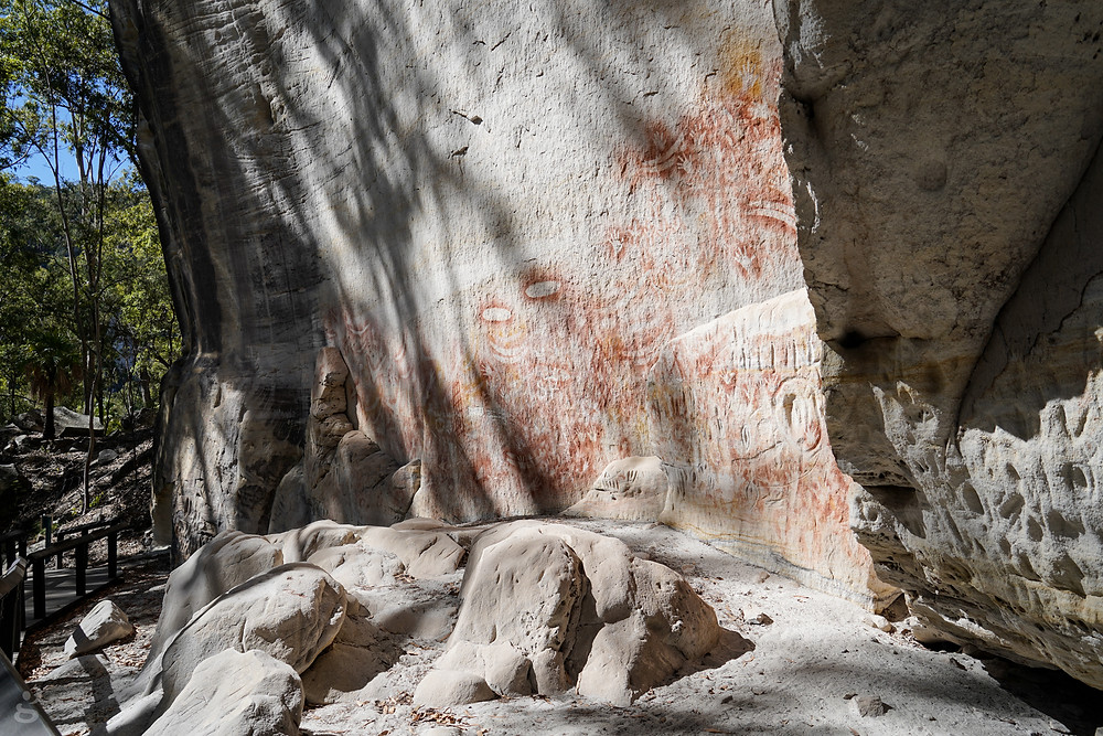 hiking in Carnarvon Gorge Cathedral Cave