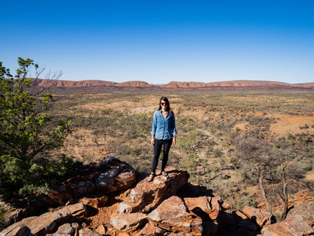Camping in the MacDonnell Ranges