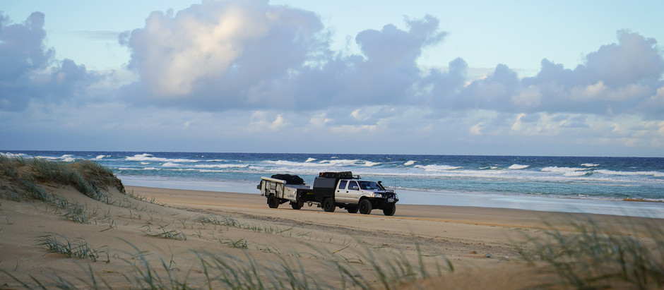 4WD Camping on Fraser Island