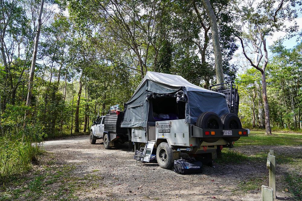 camping at Wallaman Falls