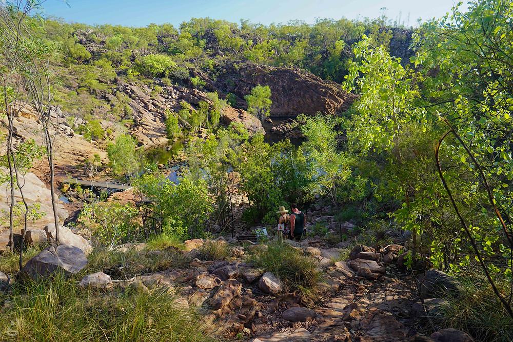 Edith Falls upper pool hike
