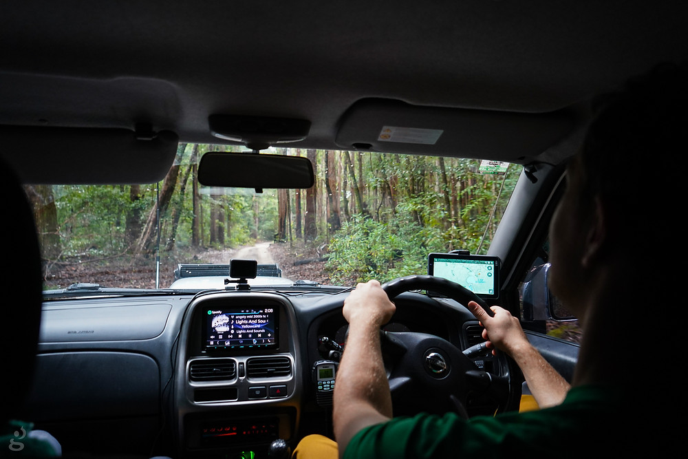4WDing Fraser Island Southern Lakes Circuit