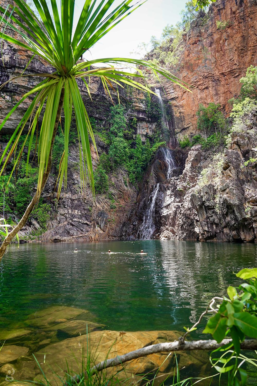 waterfalls in Litchfield National Park Tjaynera Falls